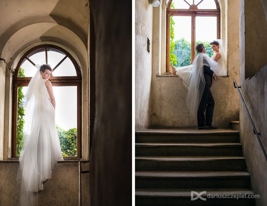 plener ślubny w kamienicy na kazimierzu