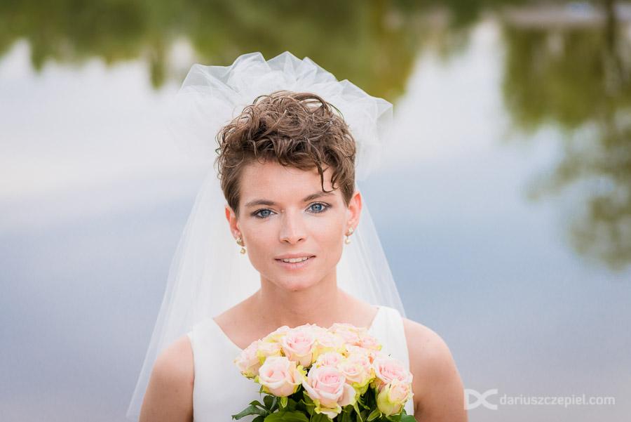 sesja ślubna w przylasku rusieckim