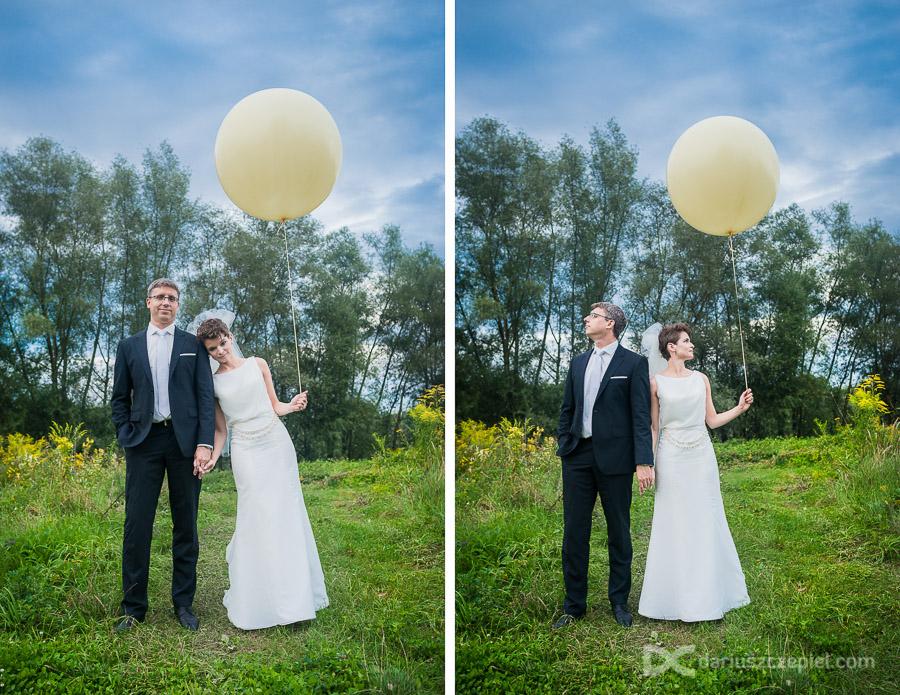 balony na sesji zdjęciowej