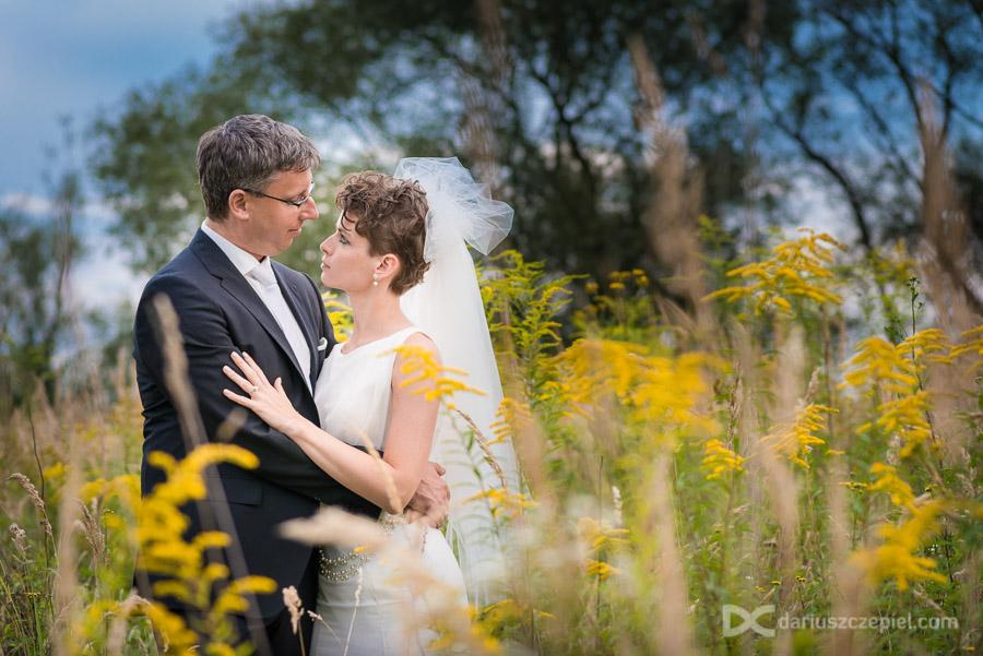 plener ślubny kraków wśród traw przylasku rusieckiego