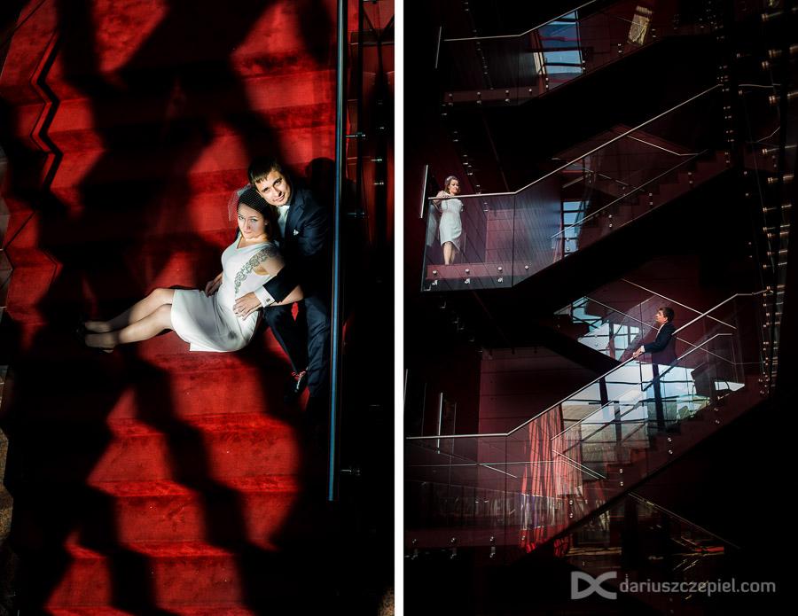 sesja zdjęciowa w budynku opery krakowskiej