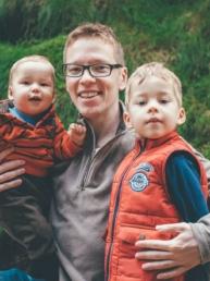 fotograf z synami