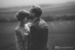 klimatyczna sesja ślubna