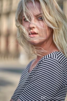 sesja portretowa z modelką w krakowie