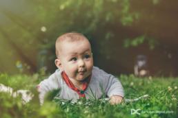 Zdjęcie dziecka z sesji rodzinnej w wykonaniu Dariusz Czepiel fotografia rodzinna