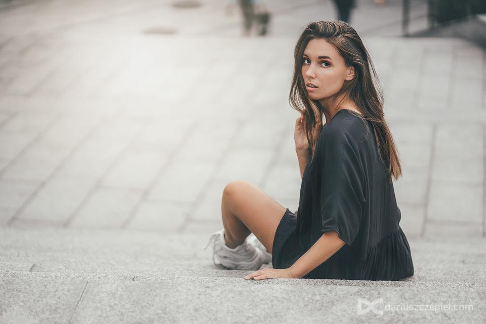 portret modelki w Krakowie