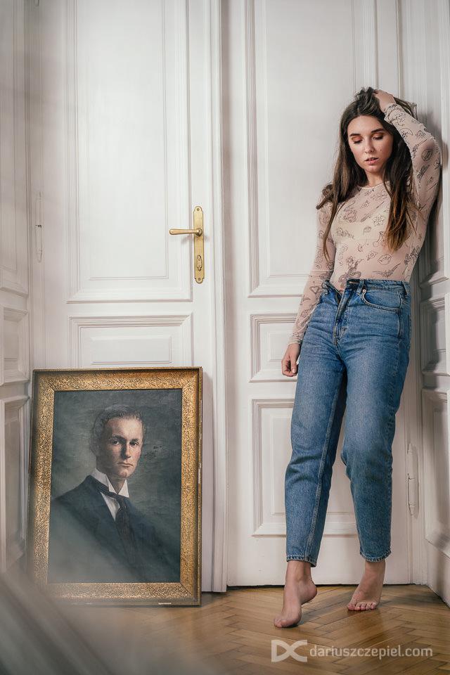 prywatny portret kobiecy w krakowie wykonal Dariusz Czepiel